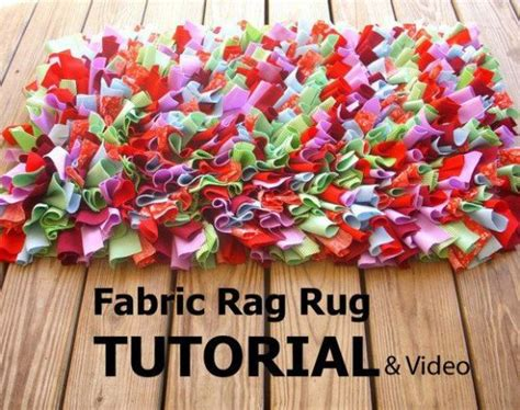How To Make Handmade Rag Rugs - easy rag rug diy the tutorial