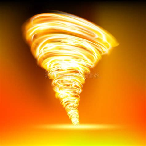 flame tornado l tornado stock illustration image 50934906