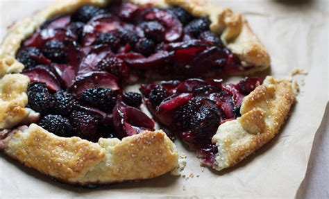 blackberry plum galette recipes noshon it