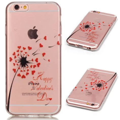 Softcase Iphone 6iphone 6 Plus 2 slim pattern clear transparent tpu soft cover for iphone 7 6 6s 7 plus