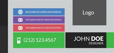 mini business cards template free mini business card template with flat style