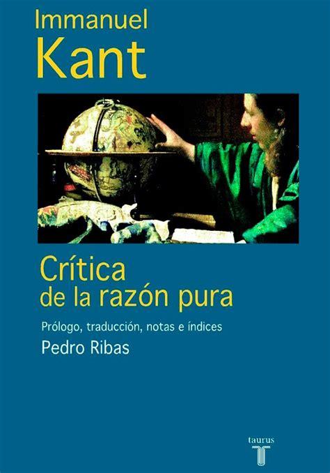 libro critica de la razon adjunto portada del libro cr 237 tica de la raz 243 n pura por immanuel kant