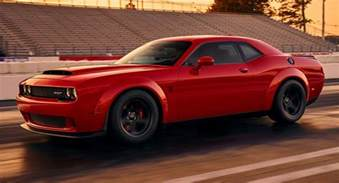 dodge says challenger srt will cost less than