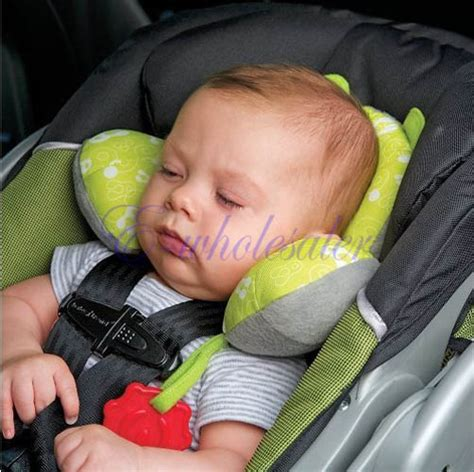 baby child neck support headrest travel car seat