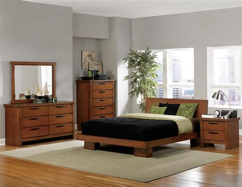 homelegance platform bedroom collection oak