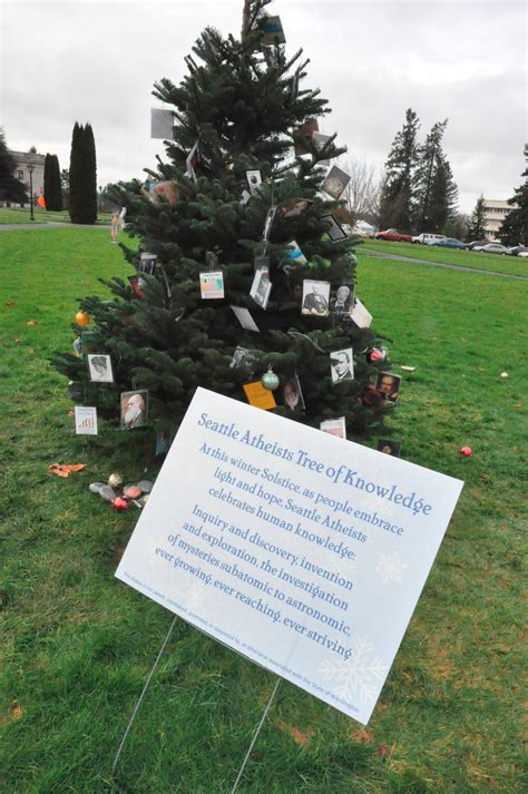 atheist tree up on capitol cus the spokesman review