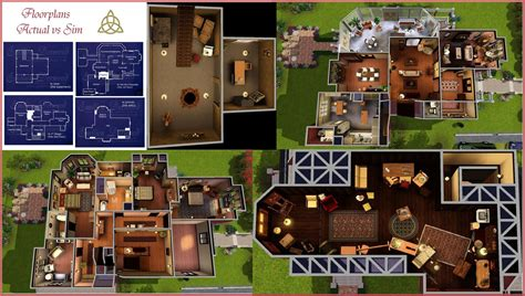 halliwell manor floor plan pennies from heaven saga of a simaholic 1329 prescott