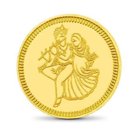 home design story coins 8gm 24kt radhe krishna gold coin india online caratlane com
