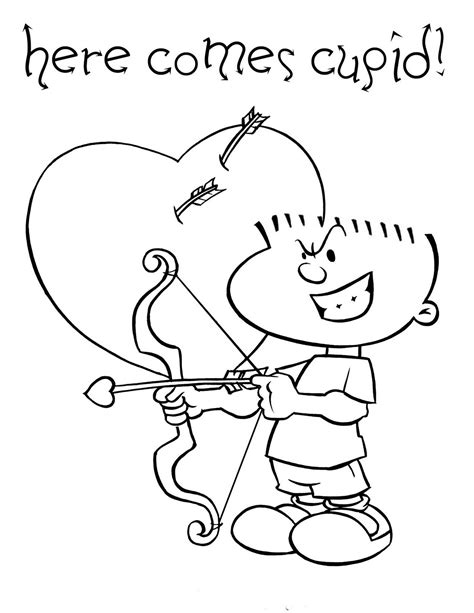 cupid coloring pages cupid coloring pages best coloring pages for