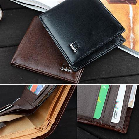 Dompet Kartu Nama Kartu Credit Card Holder Coklat Vintage Import Dk01b lembut hitam pemegang kartu kredit dompet kulit lipat saku