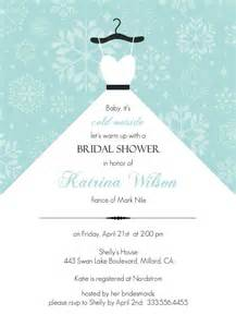 Bridal Shower Menu Template by Free Wedding Shower Invitation Templates Wedding And