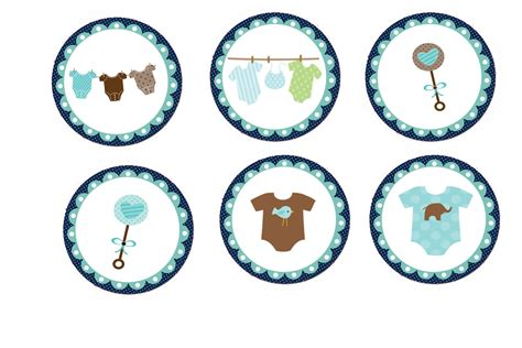 Baby Shower Topper by Baby Shower Cakes Boy Baby Shower Cupcakes Toppers