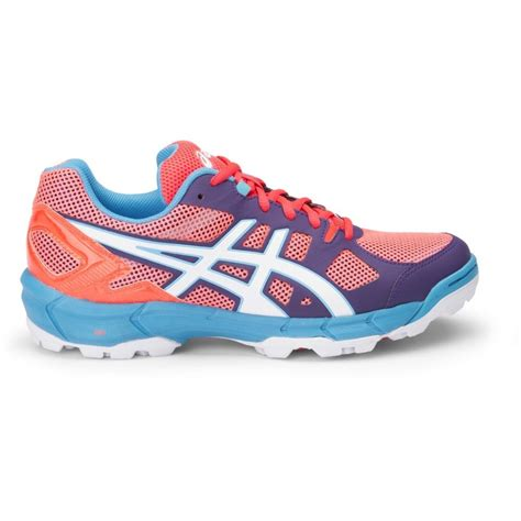 asics gel lethal elite 6 womens turf shoes earthy pink