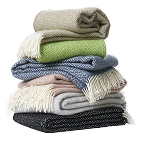 weisse wolldecken klippan wolldecken und baumwolldecken aus schweden