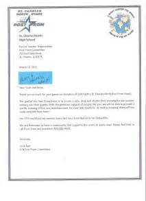 Thank You Letter To Parents From Pto Committee Tools St Charles North High School Parent