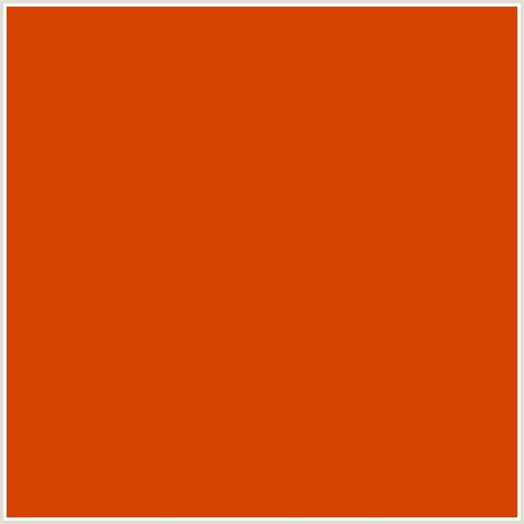 orange html color hex d44302 hex color rgb 212 67 2 grenadier red orange