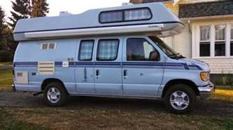 Awning Truck Used Rvs 1992 Ford Okanagan Camper Van For Sale For Sale