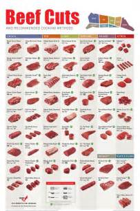 beef selection chart steak roasts and cuts of beef
