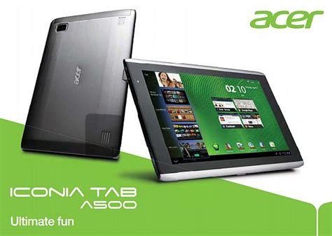 Tablet Android Di Malaysia acer iconia tab a500 now in malaysia soyacincau