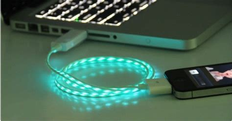Led Iphone 4 led iphone 4s usb cable iphone 4 usb cable iphone cable on luulla