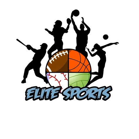 sports logo design elite sports logo 2 by s havrisik on deviantart