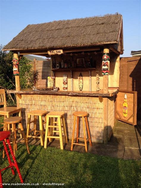 Shed Tiki Bar tiki bar pub entertainment from west mersea essex owned by ian and jo shedoftheyear