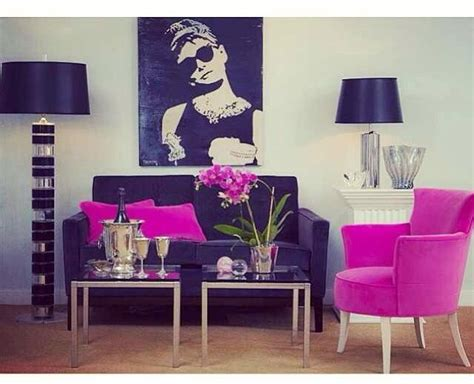 Black And Pink Living Room | black and pink living room home decor ideas pinterest