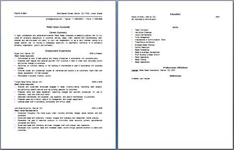 resume for sales associate geocvc co