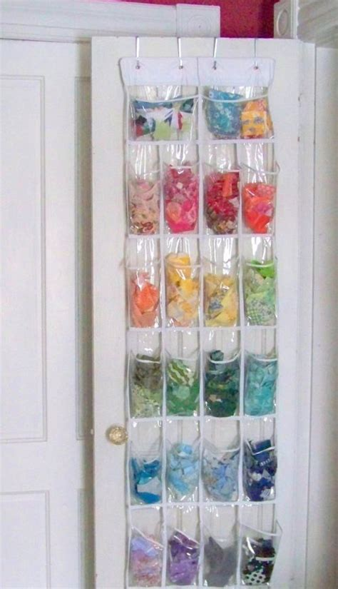 Quilt Fabric Storage Ideas by Best 20 Organizing Fabric Scraps Ideas On