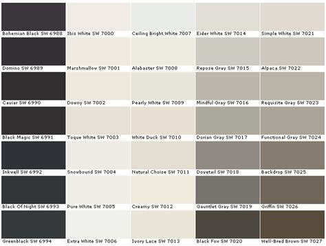 Sw Colors | sherwin williams backdrop bill house plans