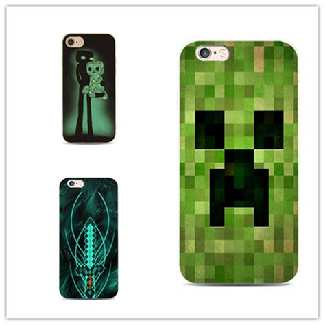 Minecraft Phone 3d Iphone 5 5s 6 Casing Hp Pig Wolf Creeper mojang minecraft phone cover for iphone 7 plus 4 4s 5 5s 5c se 6 6s iphone7 for samsung s5