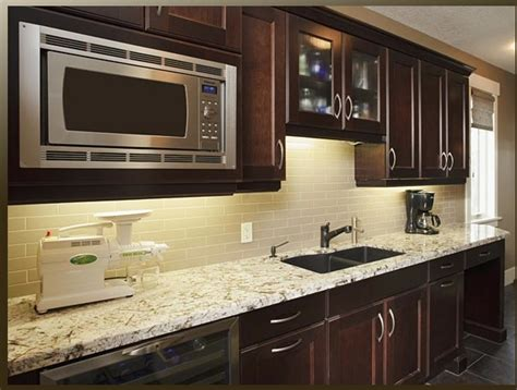 Cabinets Light Granite by Light Granite Cabinets Kitchen