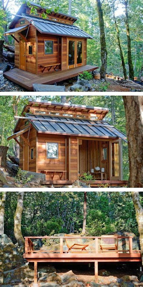 Small House Kits California A Beautiful Tiny House Cabin In Sonoma California Tiny