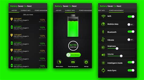 application design battery issues app design for norsigma by fueldesignyard design 4618115