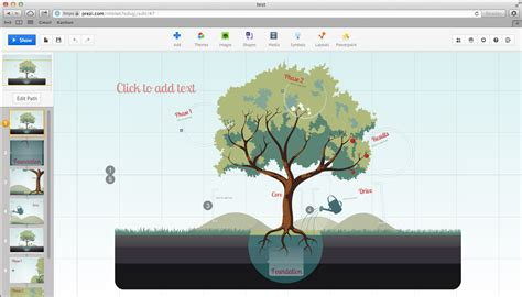 Prezi Hits 15 Million Users Promotes The Idea Economy Prezi Template