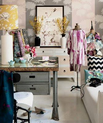 fashion design room inspire bohemia home offices craft rooms part i