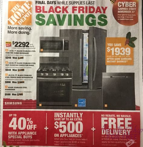 home depot black black friday ad scan how to shop for