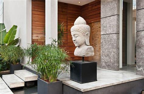 terrasse zen avec bouddha jardin asiatique ambiance zen et d 233 co exotique en 25 id 233 es