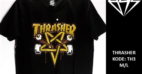 Kemeja Juice Ematic Surf Skate Tees Thrasher