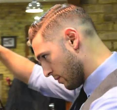high and tight side part good side part tom hardy men hair beards etc