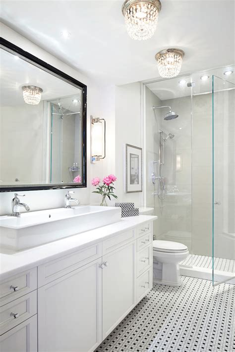 guest bathroom decor ideas with flush mount ceiling lights decolover net beaded flush mount transitional bathroom rob stuart interiors