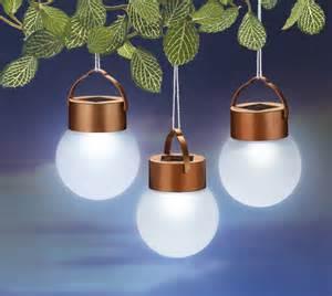 hanging outdoor solar lights set of 3 outdoor hanging solar led lights