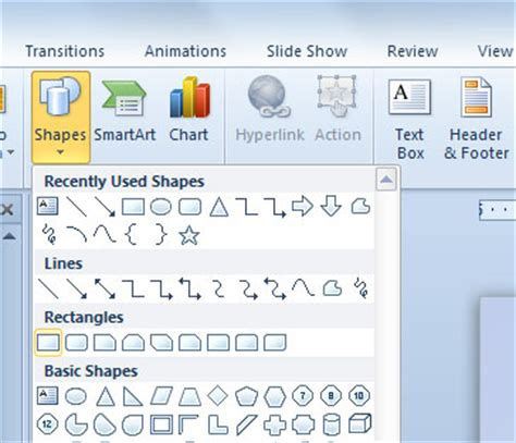 powerpoint layout button buttons in powerpoint