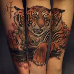 Japanese Tiger Tattoo Chest Tiger And Dragon Tattoo » Home Design 2017