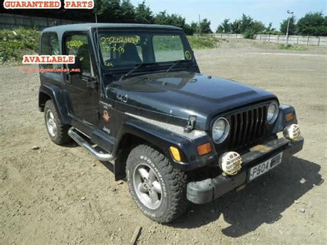 1997 Jeep Parts Jeep Wrangler Breakers Wrangler 4 Dismantlers