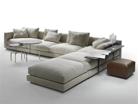 corner sectional pleasure corner sofa by flexform
