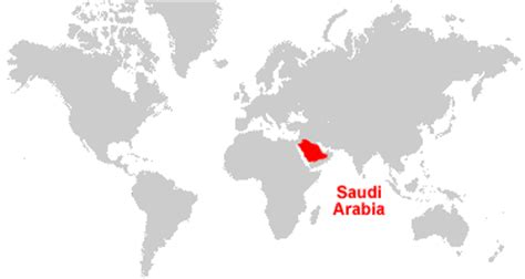 where is saudi arabia on the world map saudi arabia map and satellite image