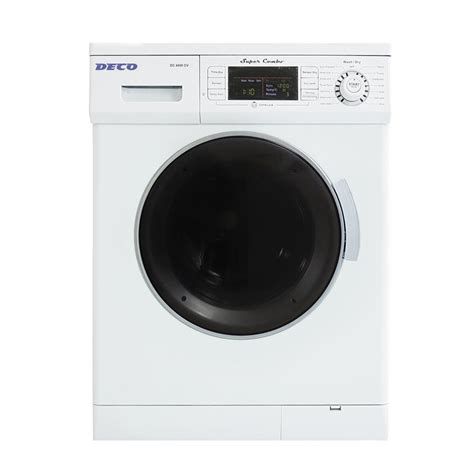 deco 1 6 cu ft compact combo washer and electric dryer