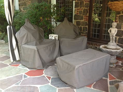 Outdoor Patio Chair Covers Custom Patio Furniture Covers Outdoor Sectional Covers Creative Covers
