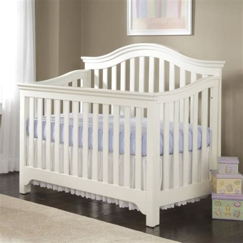 Creations Baby Mesa 4 In 1 Convertible Crib Off White Creations Baby Crib